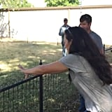 Joanna Misjudges the Height of a Fence