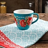 The Pioneer Woman Vintage Floral Teal 16-Ounce Mug ($4)