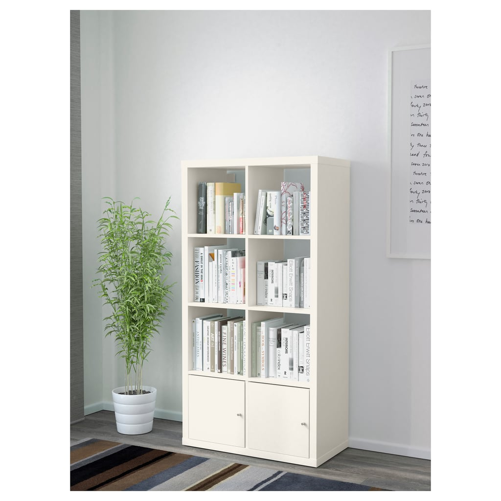 Shelving Unit With Doors