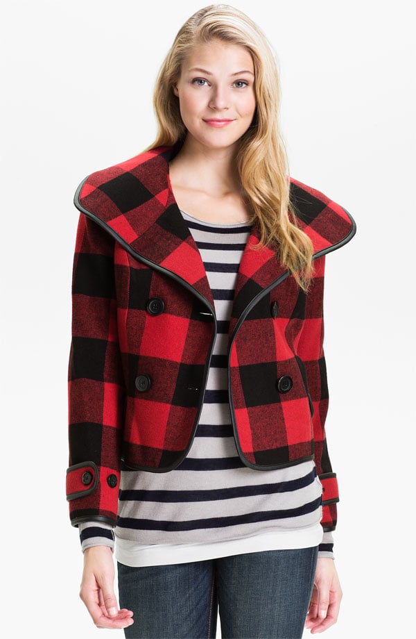 This Kensie Double Breasted Plaid Jacket ($128) makes getting that buffalo-plaid look from Michael Kors easy and affordable.
