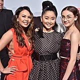 Janel Parrish, Lana Condor, and Anna Cathcart at the P.S. I Still Love You Premiere in LA