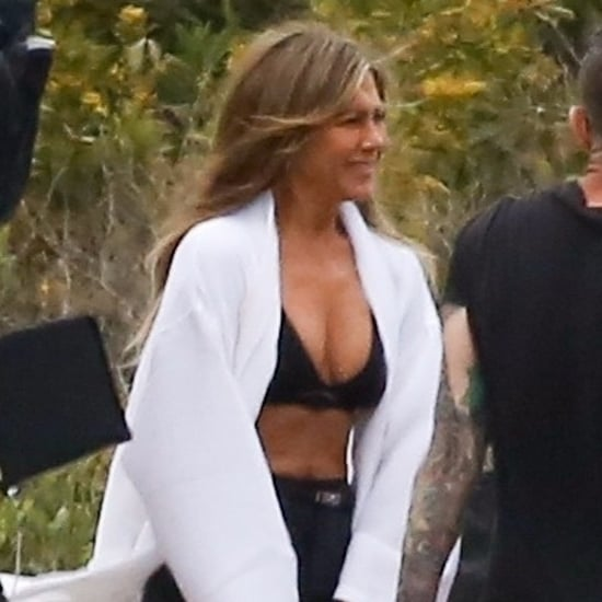 Jennifer Aniston Doing a Photo Shoot in Malibu March 2019