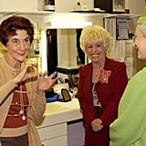 June Brown, Barbara Windsor, and the Queen