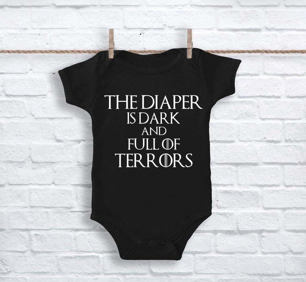 This Diaper Is Dark and Full of Terrors Onesie