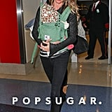 Gisele Bündchen and Vivian prepared to depart out of LAX.