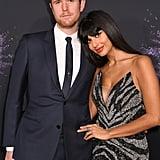 James Blake and Jameela Jamil at the 2019 American Music Awards