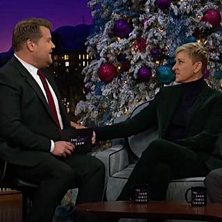 Ellen DeGeneres Talks Stand-up on James Corden December 2018