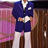 Presenting at the Oscars in 2005.