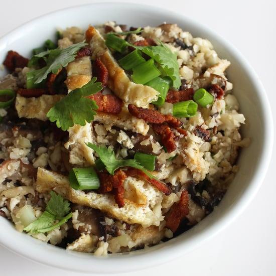 Paleo Fried Rice Recipe Using Cauliflower Rice Substitute