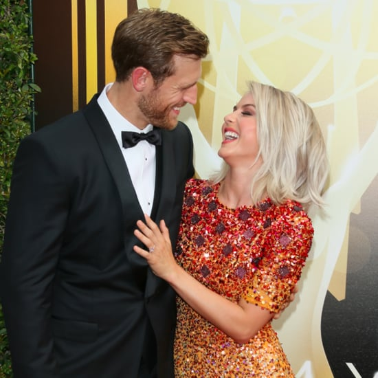 Julianne Hough and Brooks Laich at the Creative Arts Emmys