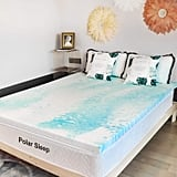 Polar Sleep 2 Inch Plush Gel Memory Foam Mattress Topper
