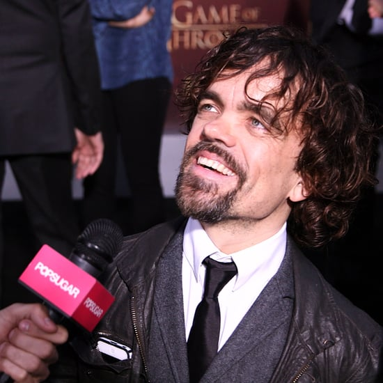 Peter Dinklage Season 5 Game of Thrones Premiere Interview
