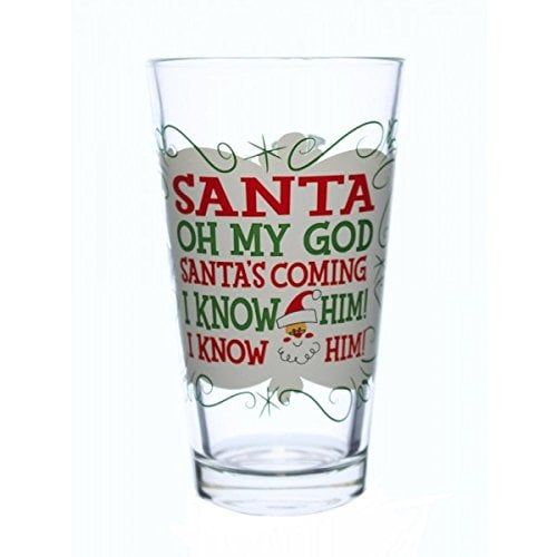 I Know Him! Pint Glass ($10)