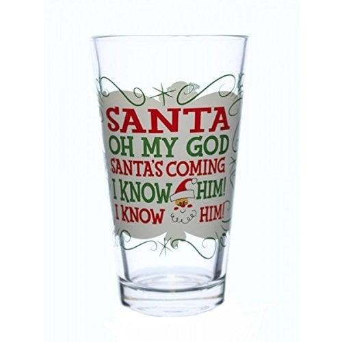 I Know Him! Pint Glass