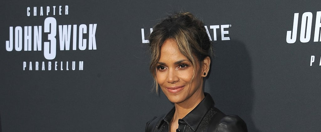 Halle Berry's No-Equipment Core and Glute Moves