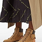 See by Chloé Foldover Suede Hiking Boots