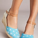 Anthropologie Critter Wedge Sandals