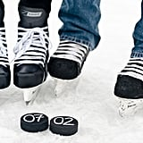 Skates-and-Puck Save the Date