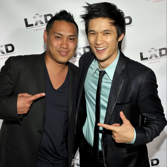 Harry Shum Jr. Gives Crazy Rich Asians Art to Jon M. Chu