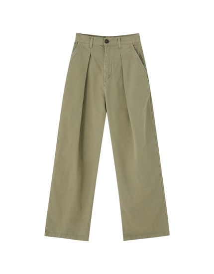 PULL&BEAR Cargo Trousers