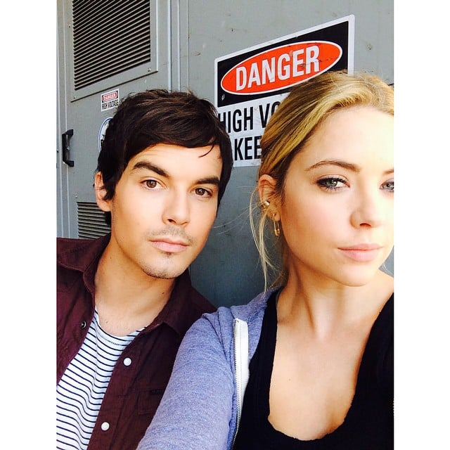 Ashley Benson and Tyler Blackburn — Are They or Aren't They? | POPSUGAR  Celebrity UK