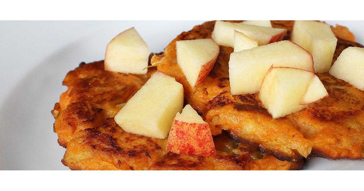 Paleo Sweet Potato Apple Pancakes Breakfast Recipe Popsugar