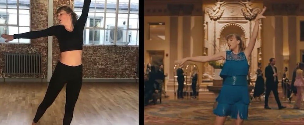 "Those Goofy Moves in Taylor Swift's ""Delicate"" Video Took a Lot of Practice"
