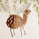 Bottlebrush Reindeer Ornaments