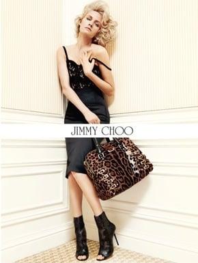 Amber Valletta For Jimmy Choo