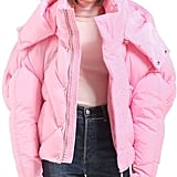 Luisaviaroma Oversize Hooded Nylon Down Jacket