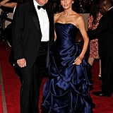 Donald Trump and Melania Knauss in 2010