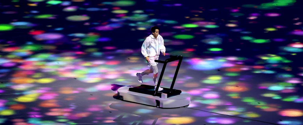 Tokyo Olympics Opening Ceremony: Who Was on the Treadmill?