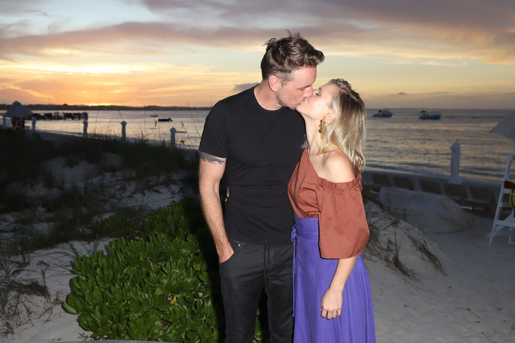 The couple enjoyed a romantic getaway in Turks and Caicos in January 2018.