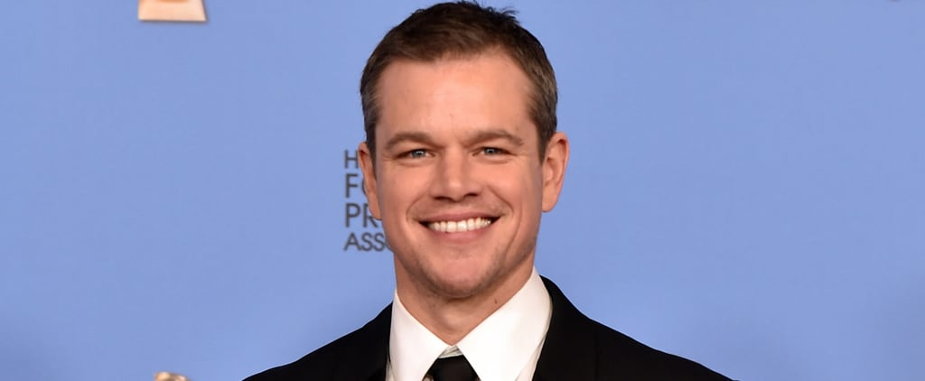Matt Damon's Smile Has Been Making Us Swoon For Over 28 Years