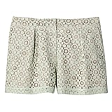 Mint Green Pleated Lace Short   ($28)