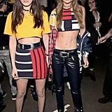Bella and Gigi Pose Backstage at Tommy Hilfiger's Spring '17 Show
