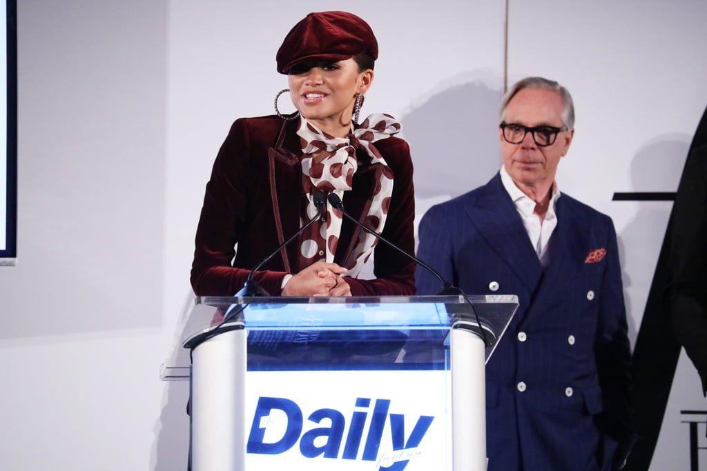 She earned an honor at the Daily Front Row's Fashion Media Awards.