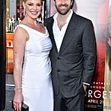 Katherine Heigl and Josh Kelley at Unforgettable Premiere