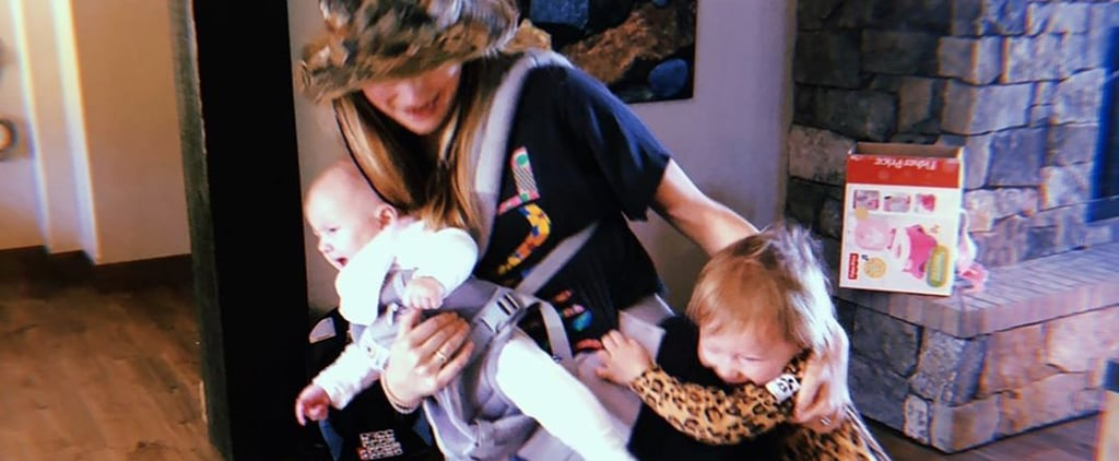 Behati Prinsloo's Photo of Daughters August 2019