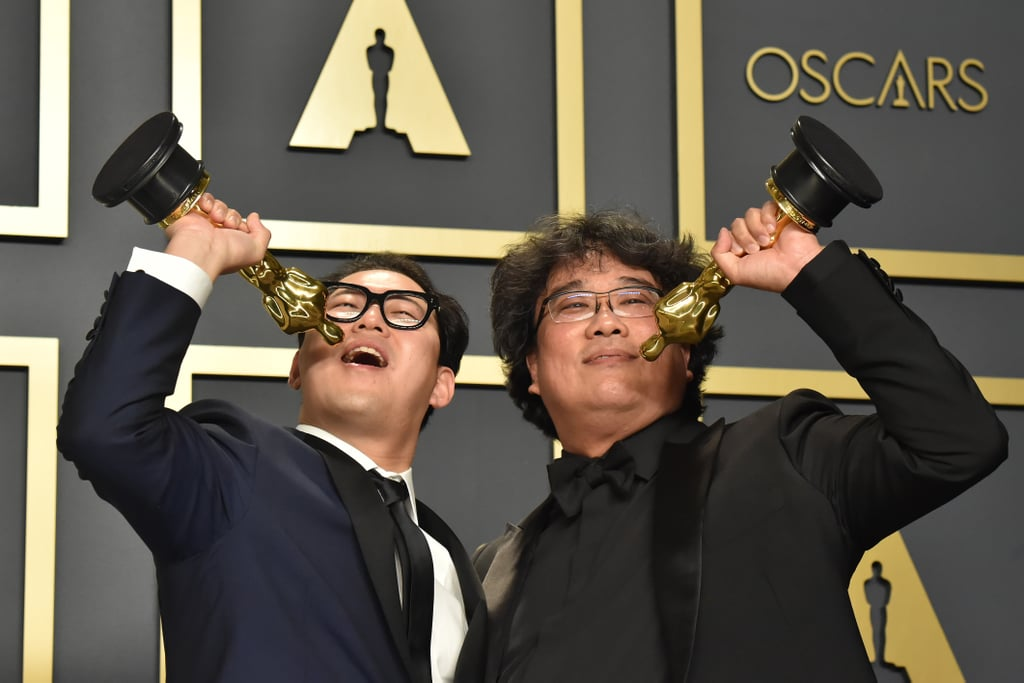 Bong and Parasite Screenwriter Han Jin-won Slung Back Hypothetical Shots With Their Awards