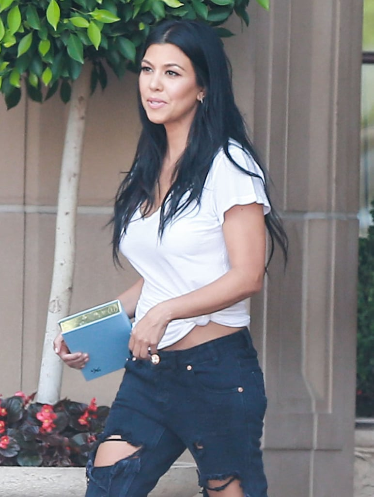 Kourtney Kardashian After Split With Scott Disick | Pictures