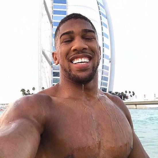 Anthony Joshua Dubai Pictures