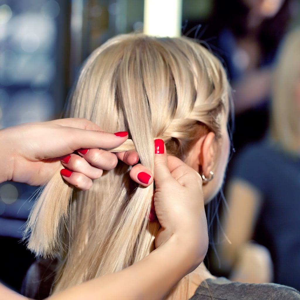 How To Do A French Side Braid Popsugar Beauty