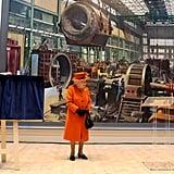 Queen Elizabeth II's Orange Outfit March 2019