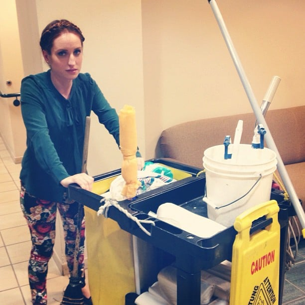 Zoe Lister Jones knows better than to give up her day job. Source: Instagram user zoelisterjones