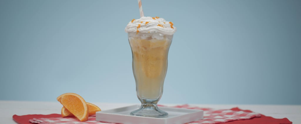 This Creamsicle Kombucha Float Is Going to Rock Your World