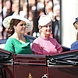 Pictured: Princess Eugenie and Sophie, Countess of Wessex