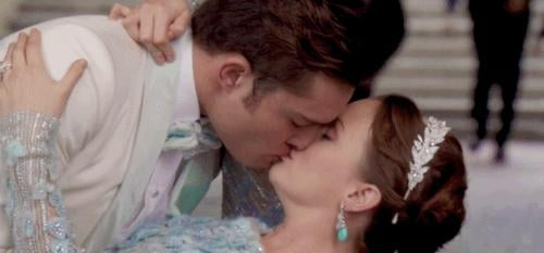 Blair eventually married Chuck.