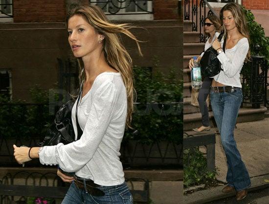 Photos of Gisele Bundchen in NYC 2008-06-05 14:00:59