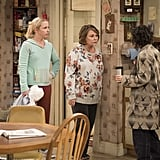 Things don't look peachy keen between Roseanne and Darlene.